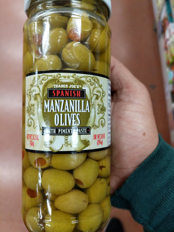 Trader Joe's Spanish Manzanilla Olives