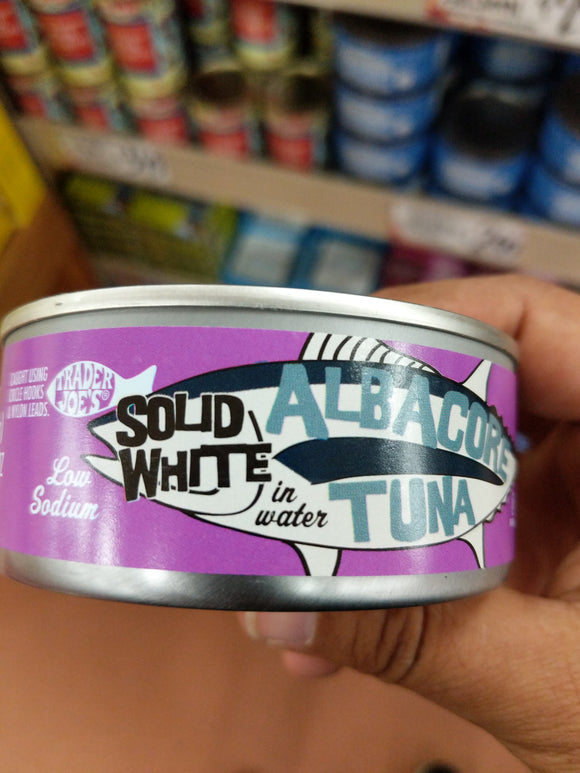 Trader Joe's Albacore Solid White Tuna - Half Salt