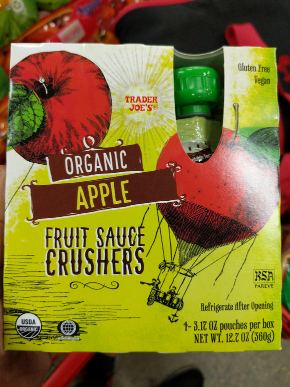Trader Joe's Applesauce Crushers Fruit Sauce