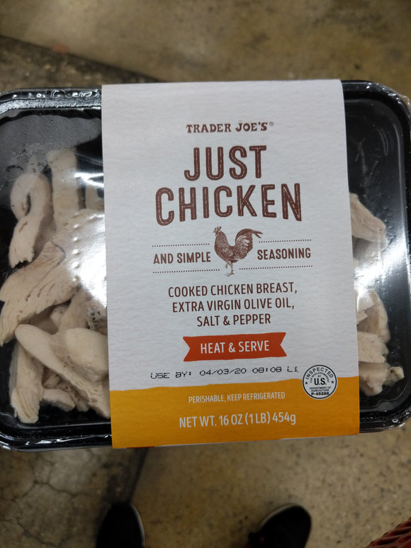 Trader Joe's Just Chicken