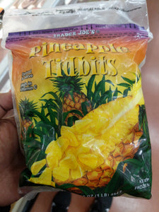 Trader Joe's Pineapple Tidbits (Frozen)
