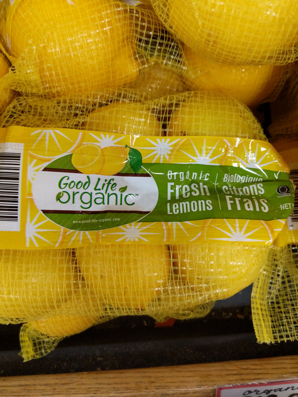 Trader Joe's Bag of Organic Lemons