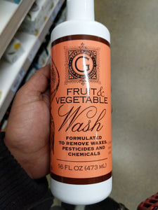 Trader Joe's Fruit and Vegetable Wash (Proven to Remove Pesticides, Waxes and Chemicals)