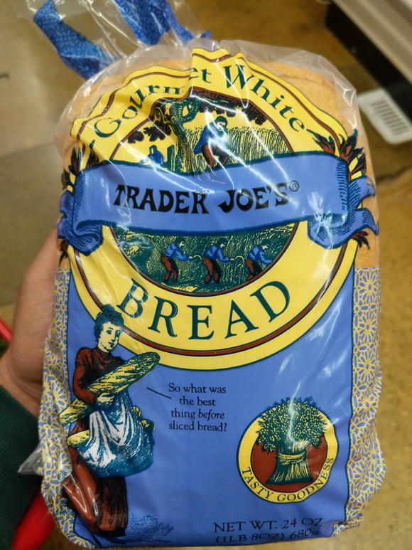 Trader Joe's Gourmet White Bread
