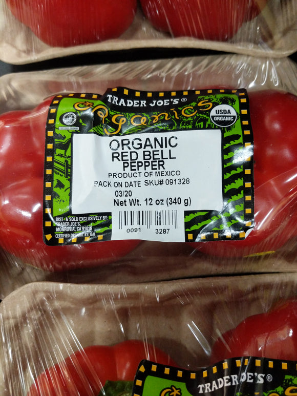Trader Joe's Organic Red Bell Peppers