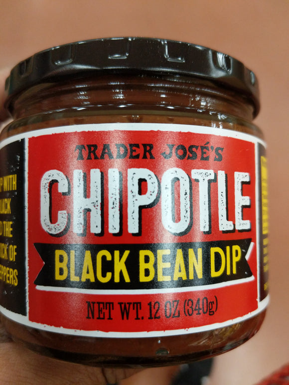 Trader Joe's Chipotle Spicy Black Bean Dip (Fat Free)