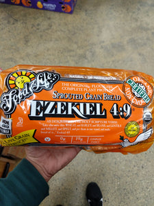 Organic Ezekiel Whole Wheat Bread
