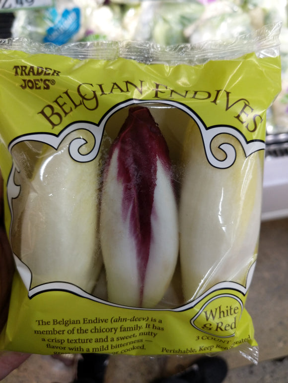 Trader Joe's White and Red Belgian Endive