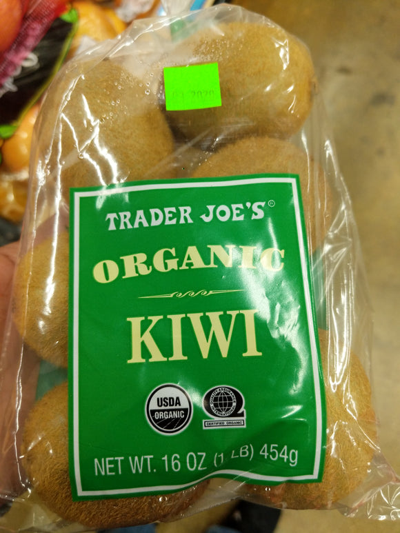 Trader Joe's Bag of Organic Kiwis