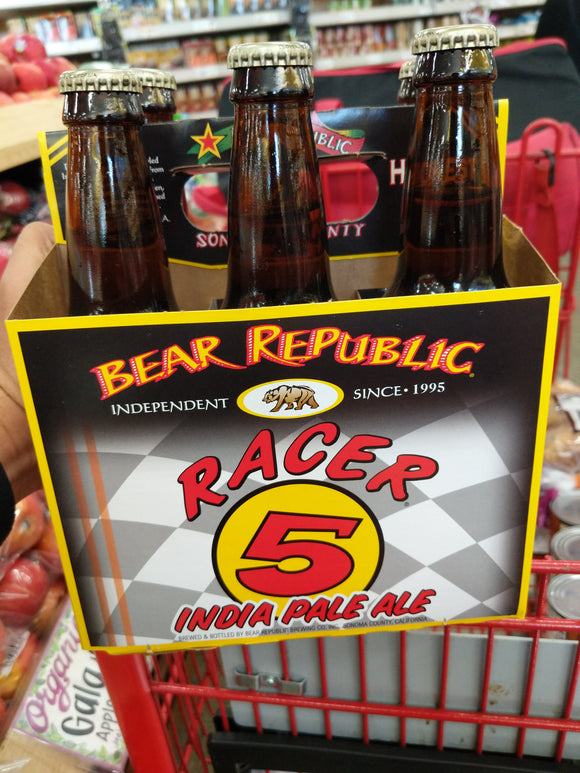 Trader Joe's Bear Republic Racer 5 IPA