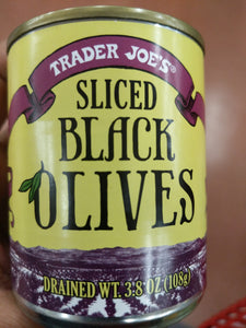 Trader Joe's Sliced Black Olives