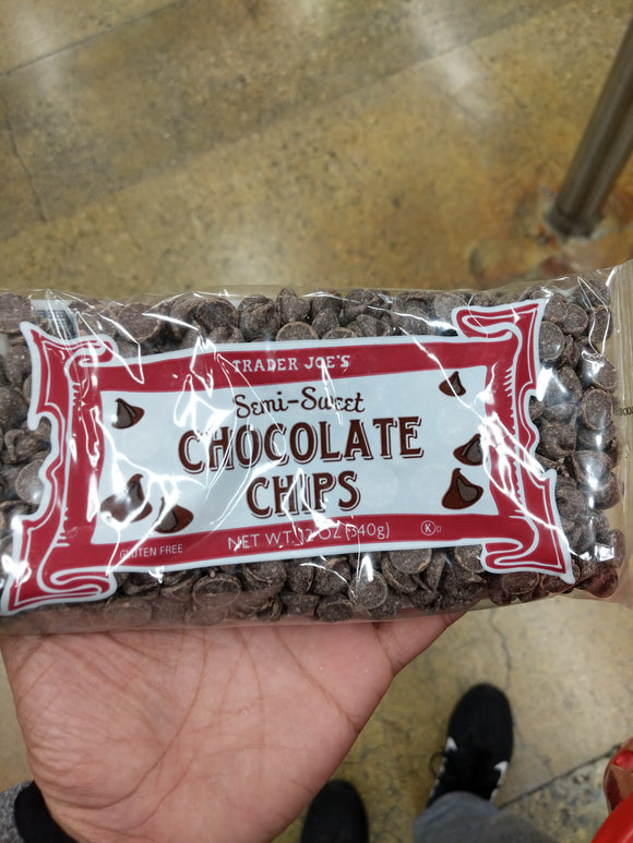Trader Joe's Semi Sweet Chocolate Chips