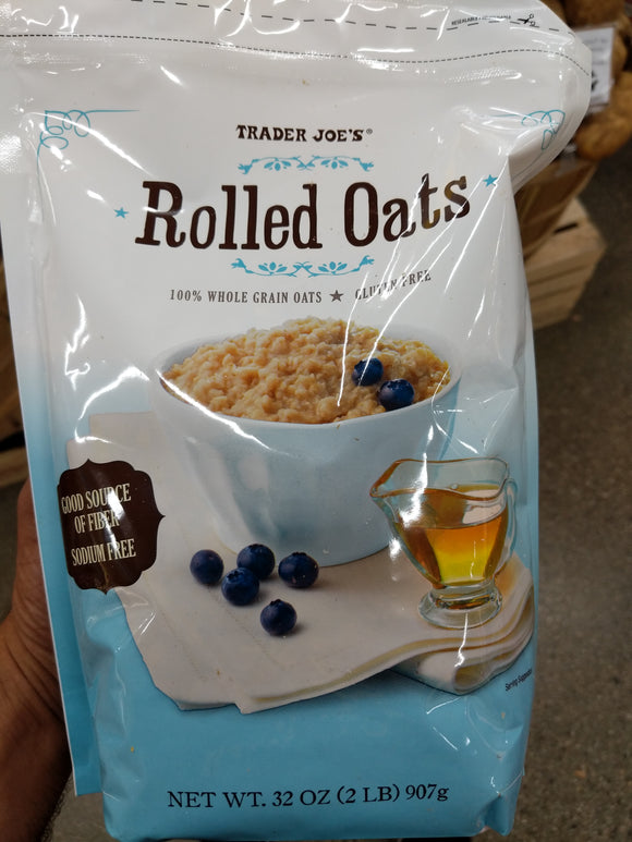 Trader Joe's Rolled Oats (Gluten Free, Wheat Free)