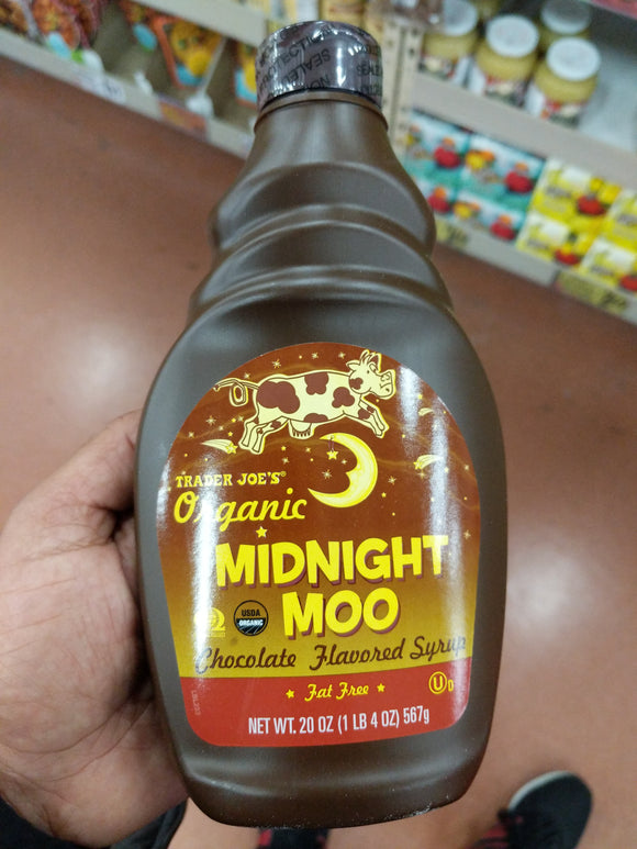 Trader Joe's Organic Midnight Moo Chocolate Syrup