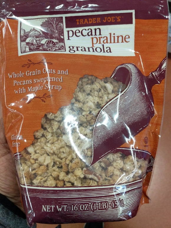 Trader Joe's Pecan Praline and Granola