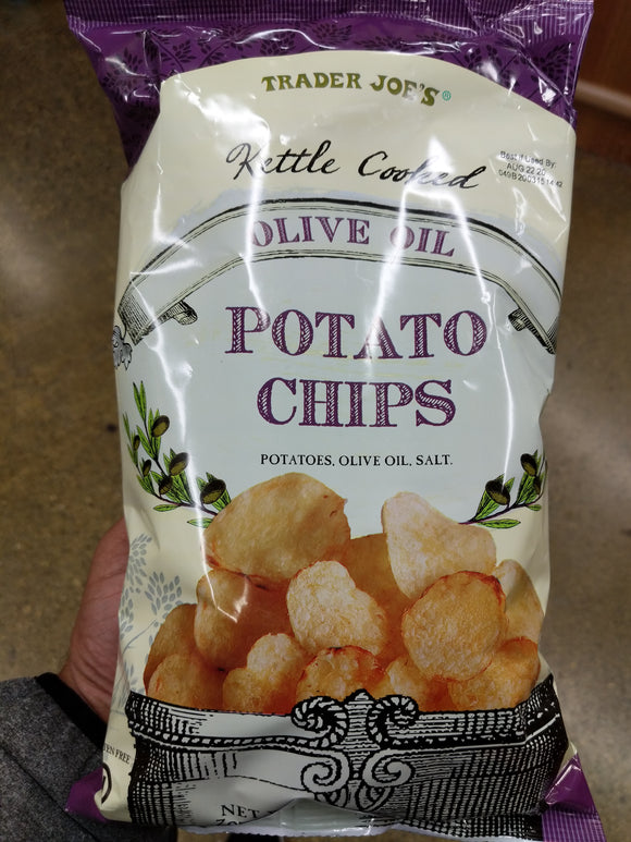 Trader Joe's Kettle Cooked Olive Oil Potato Chip