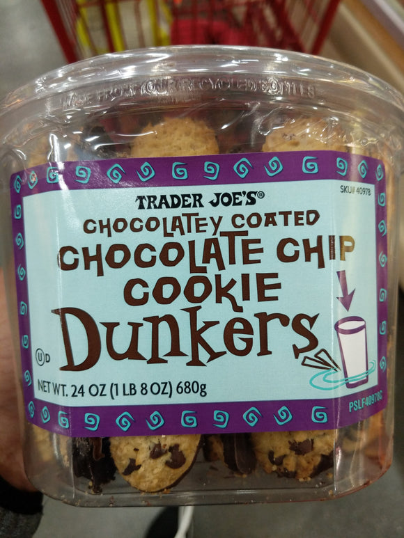 Trader Joe's Chocolatey Coated Chocolate Chip Dunkers