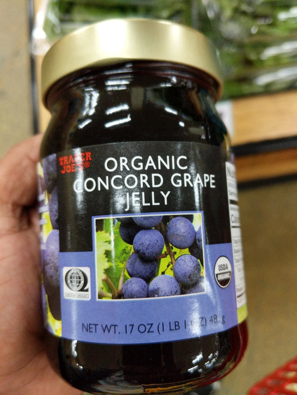 Trader Joe's Organic Concord Grape Jelly
