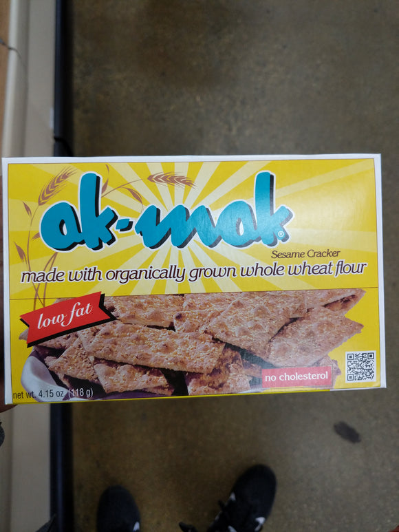 Trader Joe's Ak Mak 100% Whole Wheat Stone Ground Sesame Crackers