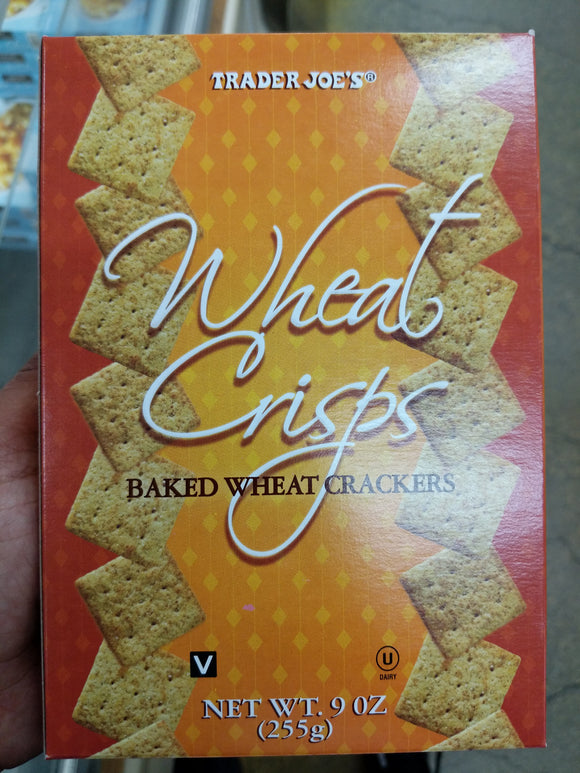 Trader Joe's Wheat Crisps