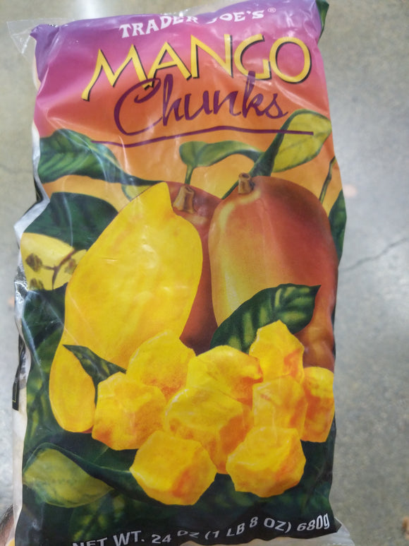 Trader Joe's Mango Chunks (Frozen)