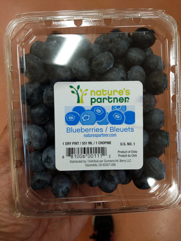 Trader Joe's Fresh Blueberries