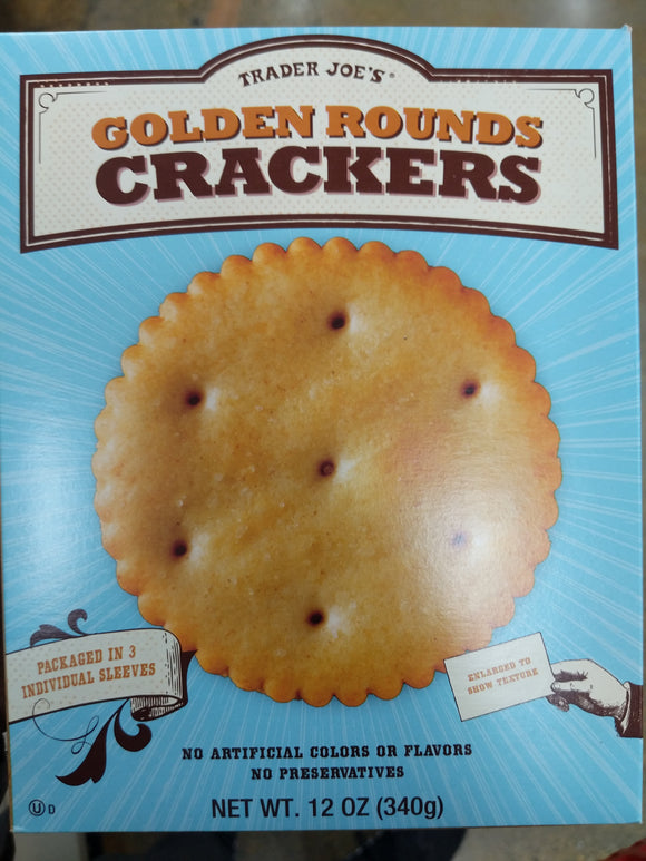Trader Joe's Golden Round Crackers