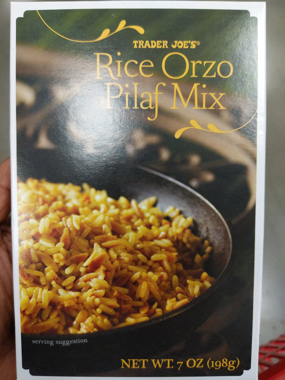 Trader Joe's Rice Orzo Pilaf Mix