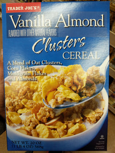 Trader Joe's Vanilla Almond Clusters Cereal