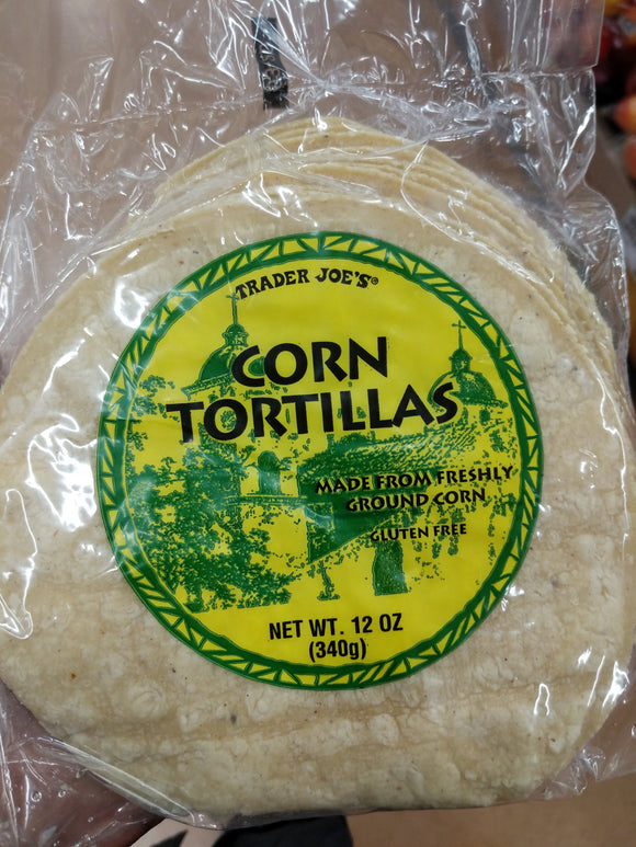 Trader Joe's Corn Tortillas (12 Count)