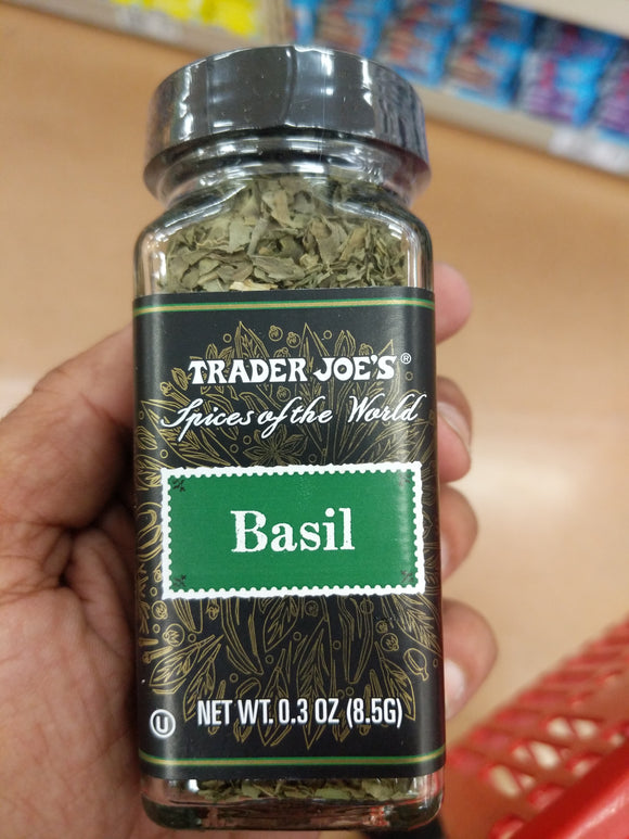 Trader Joe's Basil  (Spices of the Wold)