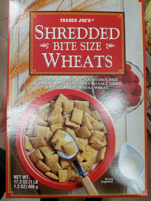 Trader Joe's Shredded Bite Size Wheats