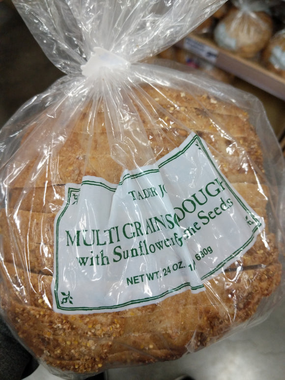 Trader Joe's Multi-Grain Sourdough Bread (with Sunflower and Sesame Seeds)
