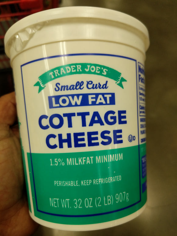 Trader Joe's Cottage Cheese (Low Fat, 32 oz.)