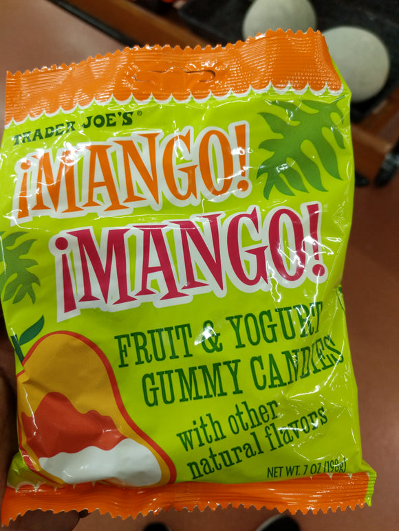 Trader Joe's Mango Mango! Fruit & Yogurt Gummies