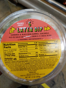 Trader Joe's 5 Layer Dip
