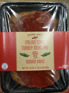 Trader Joe's Turkey Meatloaf