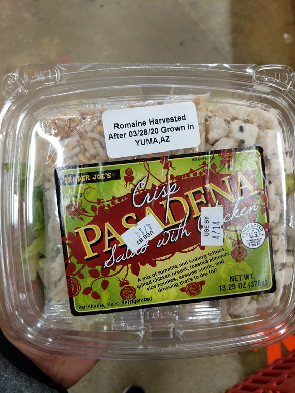 Trader Joe's Crisp Pasadena Chicken Salad