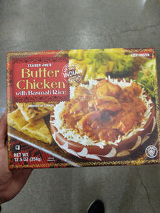 Trader Joe's Butter Chicken (with Basmati Rice)