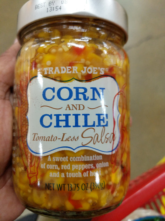 Trader Joe's Corn Chile Salsa (Tomato-less)