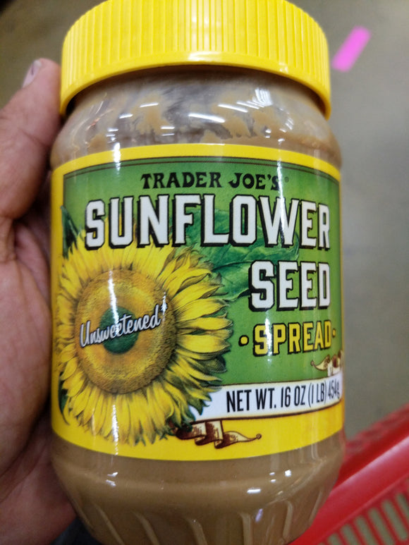 Trader Joe's Sunflower Seed Spread (Unsweetened)