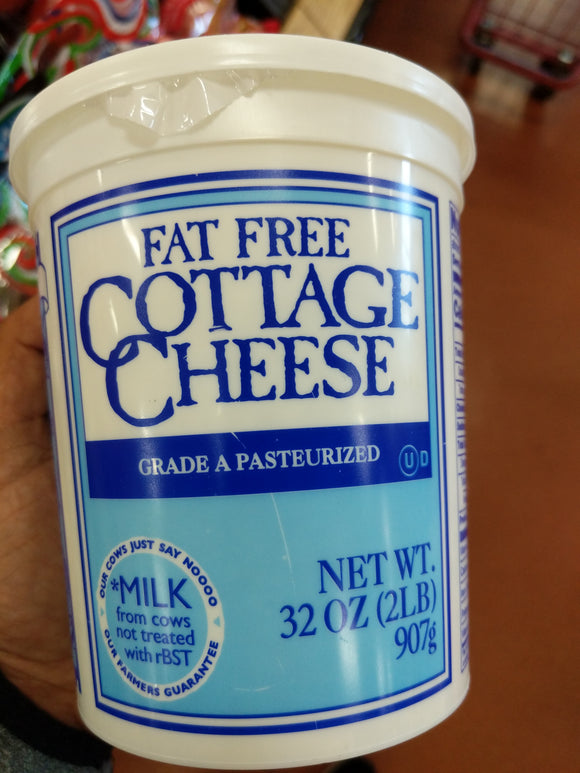 Trader Joe's Cottage Cheese (Fat Free, 32 oz.)