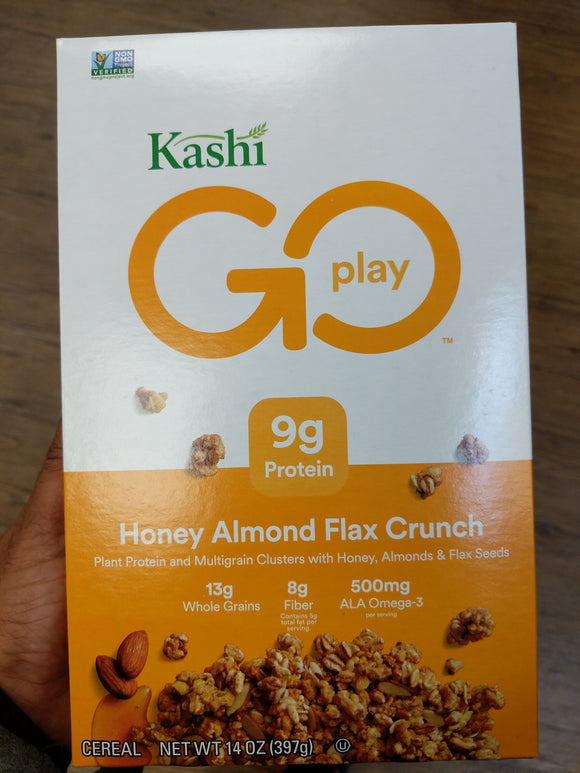 Kashi Go Lean Crunch! Cereal (Honey Almond Flax)