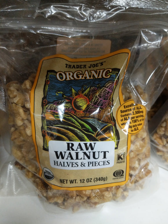 Trader Joe's Organic Raw Walnuts