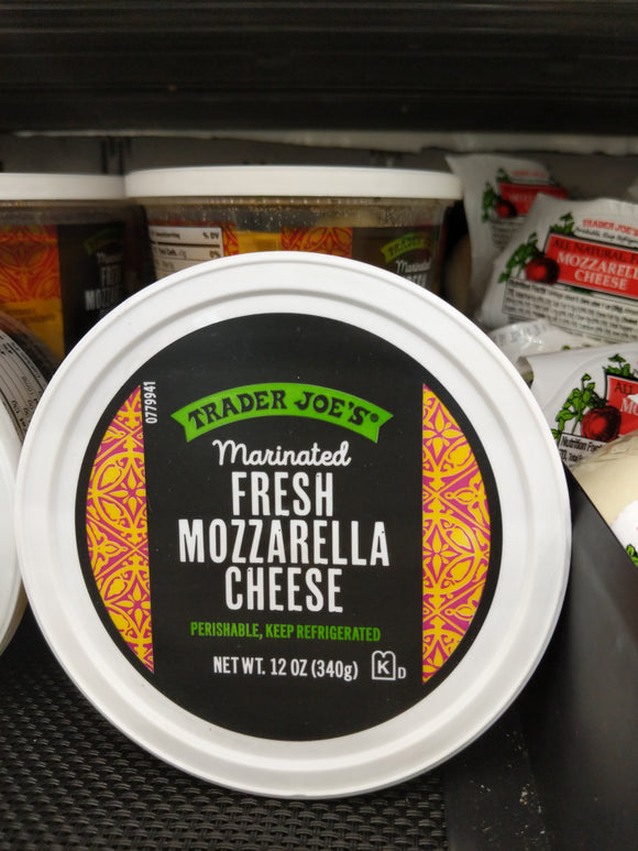 Trader Joe's Marinated Fresh Mozzarella