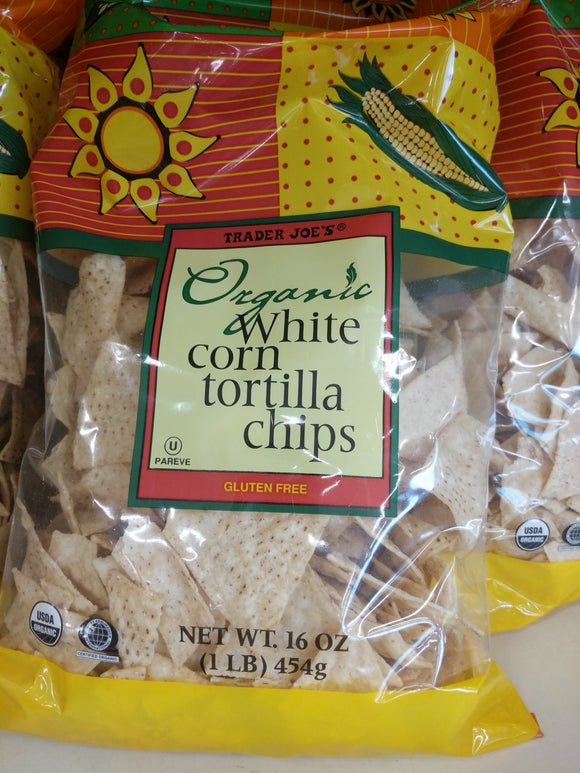 Trader Joe's Organic Yellow Corn Tortilla Chips