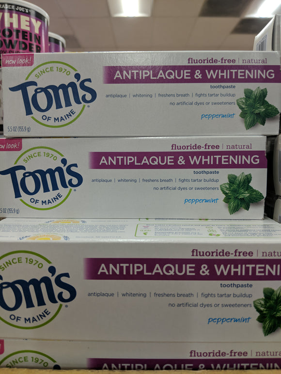 Trader Joe's Tom's Toothpaste (Antiplaque and Whitening)