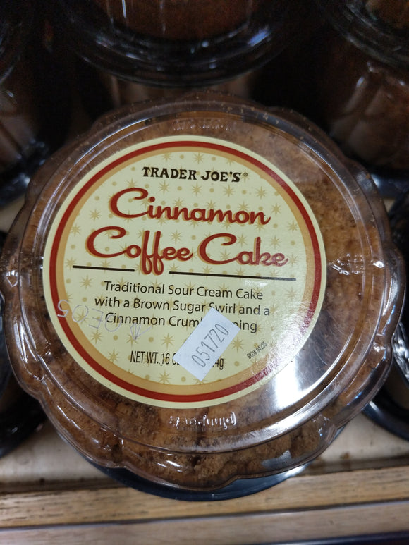 Trader Joe's Cinnamon Coffee Cake