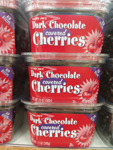 Trader Joe's Dark Chocolate Cherries