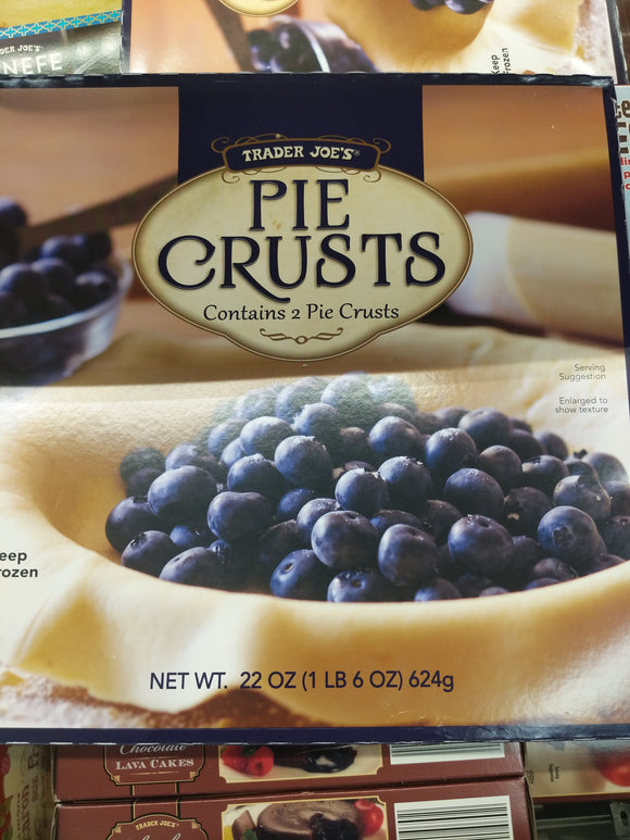 Trader Joe's Pie Crusts (2 count, No Artificial Preservatives or Flavors)